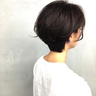 大人女子 ショートボブ ボブ ショート ヘアスタイルや髪型の写真・画像 ヘアスタイルや髪型の写真・画像
