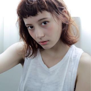 切りっぱなし 外ハネ ナチュラル ピュア ヘアスタイルや髪型の写真・画像 ヘアスタイルや髪型の写真・画像