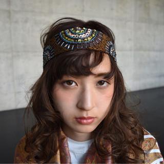 外国人風 ハーフアップ ショート ヘアアレンジ ヘアスタイルや髪型の写真・画像 ヘアスタイルや髪型の写真・画像
