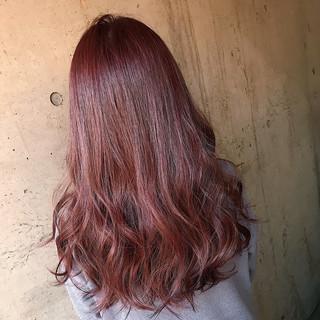ナチュラル ラベンダーピンク ピンクラベンダー ピンク ヘアスタイルや髪型の写真・画像