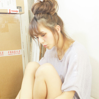 フェミニン ヘアアレンジ 外国人風 ゆるふわ ヘアスタイルや髪型の写真・画像