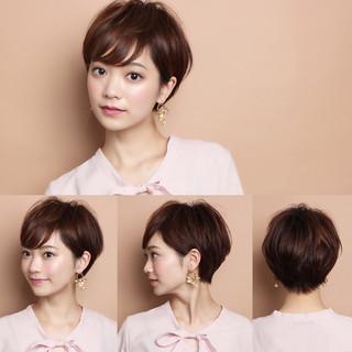 フェミニン 吉瀬美智子 辺見えみり ショート ヘアスタイルや髪型の写真・画像