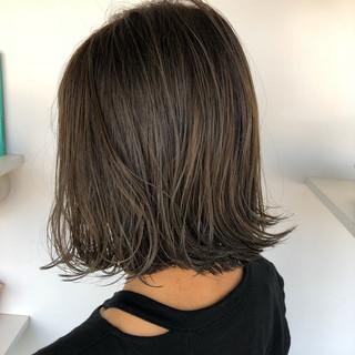 ミルクティーベージュ ショートヘア ショート ナチュラル ヘアスタイルや髪型の写真・画像