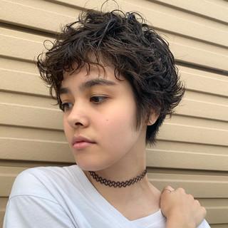 ショート 阿藤俊也 モード 似合わせカット ヘアスタイルや髪型の写真・画像