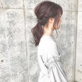 ヘアアレンジ ショート 簡単 ナチュラル ヘアスタイルや髪型の写真・画像 ヘアスタイルや髪型の写真・画像