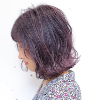 ストリート 透明感 外国人風カラー ボブ ヘアスタイルや髪型の写真・画像