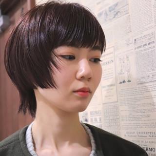 大人女子 ウルフカット ショート モード ヘアスタイルや髪型の写真・画像