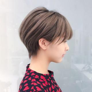 ショート 大人女子 大人かわいい 横顔美人 ヘアスタイルや髪型の写真・画像