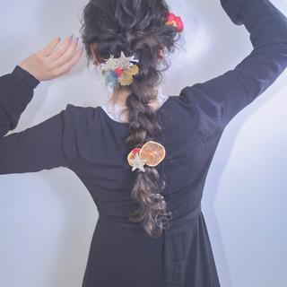 ヘアアレンジ 成人式 外国人風カラー 卒業式 ヘアスタイルや髪型の写真・画像