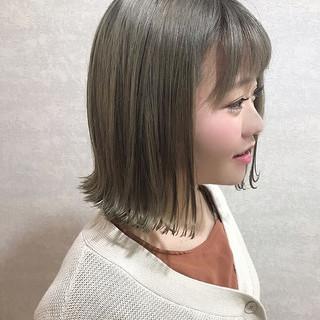 ハイライト ハイトーン ハイトーンカラー デート ヘアスタイルや髪型の写真・画像