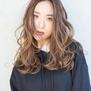 大人女子 セミロング クールロング アンニュイほつれヘア ヘアスタイルや髪型の写真・画像
