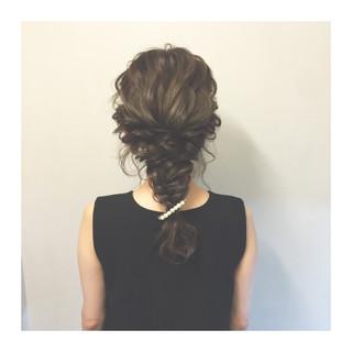 暗髪 簡単ヘアアレンジ ロング ショート ヘアスタイルや髪型の写真・画像 ヘアスタイルや髪型の写真・画像