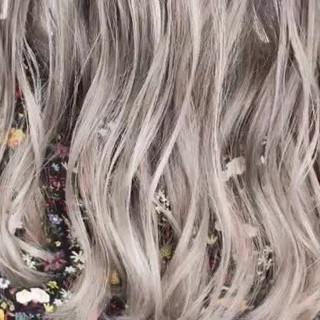 ストリート ロング バレイヤージュ 外国人風カラー ヘアスタイルや髪型の写真・画像
