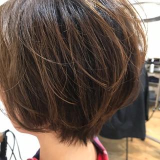 ナチュラル 毛先パーマ パーマ ニュアンスパーマ ヘアスタイルや髪型の写真・画像
