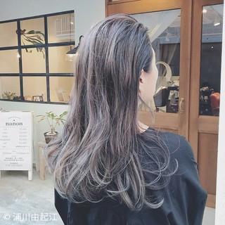 ハイライト インナーカラー 大人かわいい グラデーションカラー ヘアスタイルや髪型の写真・画像