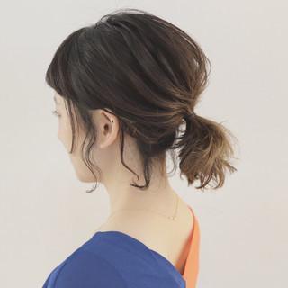 ナチュラル 涼しげ アウトドア 夏 ヘアスタイルや髪型の写真・画像