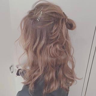 ブラウンベージュ ブラウン ラフ 抜け感 ヘアスタイルや髪型の写真・画像