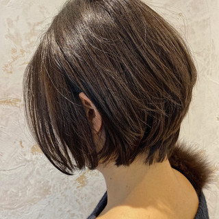 銀座美容室 ショートヘア ナチュラル ショート ヘアスタイルや髪型の写真・画像