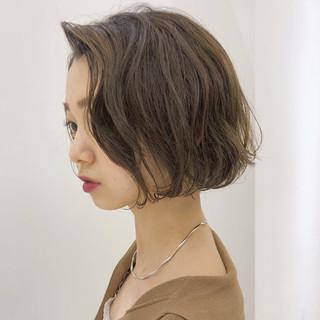 ゆるふわ フェミニン 大人かわいい グレージュ ヘアスタイルや髪型の写真・画像
