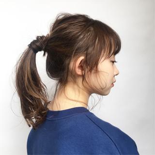 セミロング ヘアアレンジ 簡単ヘアアレンジ デート ヘアスタイルや髪型の写真・画像 ヘアスタイルや髪型の写真・画像
