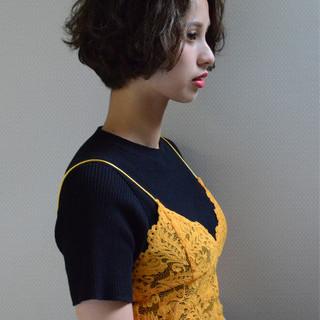 くせ毛風 ストリート ブルージュ パーマ ヘアスタイルや髪型の写真・画像 ヘアスタイルや髪型の写真・画像