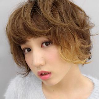 ラフ キュート ストリート ショート ヘアスタイルや髪型の写真・画像