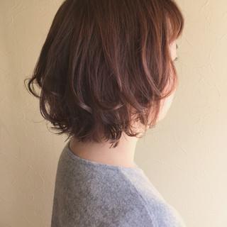フェミニン 簡単スタイリング スタイリング ワンカールスタイリング ヘアスタイルや髪型の写真・画像