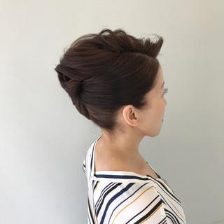 エレガント 上品 結婚式 ロング ヘアスタイルや髪型の写真・画像 ヘアスタイルや髪型の写真・画像