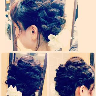 モテ髪 ショート 簡単ヘアアレンジ ヘアアレンジ ヘアスタイルや髪型の写真・画像