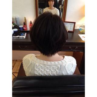小顔 ゆるふわ 似合わせ 黒髪 ヘアスタイルや髪型の写真・画像