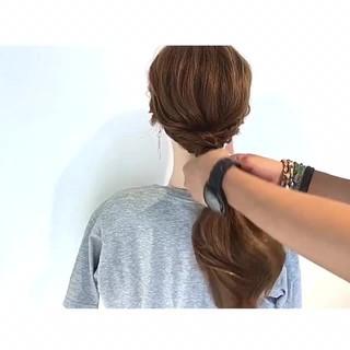 デート 色気 上品 エレガント ヘアスタイルや髪型の写真・画像