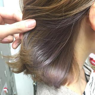 ヘアアレンジ モテ髪 ナチュラル セミロング ヘアスタイルや髪型の写真・画像