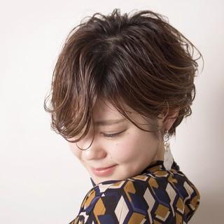 ヘアアレンジ 簡単ヘアアレンジ ナチュラル ショート ヘアスタイルや髪型の写真・画像 ヘアスタイルや髪型の写真・画像
