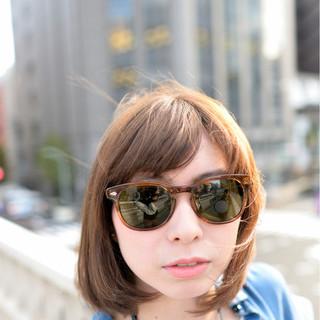 フェミニン 大人かわいい 前髪あり ミディアム ヘアスタイルや髪型の写真・画像