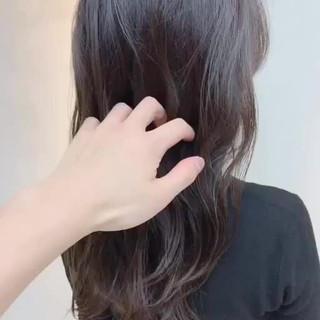 ロング 外国人風カラー ナチュラル 透明感カラー ヘアスタイルや髪型の写真・画像