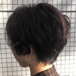 似合わせ かっこいい ショート モード ヘアスタイルや髪型の写真・画像 ヘアスタイルや髪型の写真・画像