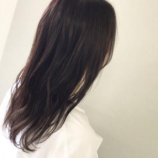 セミロング 涼しげ 夏 外国人風カラー ヘアスタイルや髪型の写真・画像