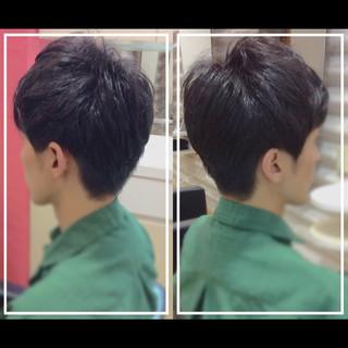 ショート 社会人の味方 オフィス 黒髪 ヘアスタイルや髪型の写真・画像