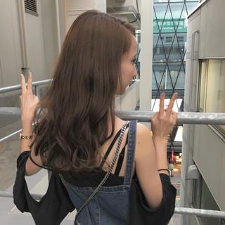 夏 涼しげ 秋 透明感 ヘアスタイルや髪型の写真・画像