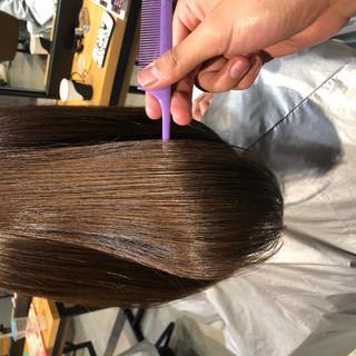 サイエンスアクア 髪質改善トリートメント ナチュラル オフィス ヘアスタイルや髪型の写真・画像