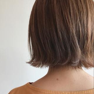 抜け感 伸ばしかけ 外ハネ ナチュラル ヘアスタイルや髪型の写真・画像