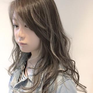ロング 外国人風 セミロング 外国人風カラー ヘアスタイルや髪型の写真・画像