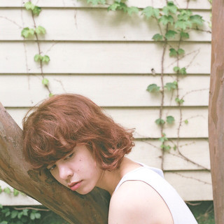パーマ 前髪あり 外国人風 ボブ ヘアスタイルや髪型の写真・画像
