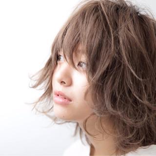 大人かわいい ナチュラル 冬 外ハネ ヘアスタイルや髪型の写真・画像 ヘアスタイルや髪型の写真・画像