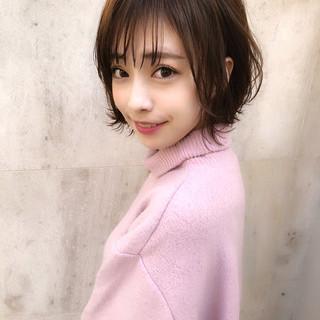 ショート アンニュイほつれヘア 簡単ヘアアレンジ デート ヘアスタイルや髪型の写真・画像