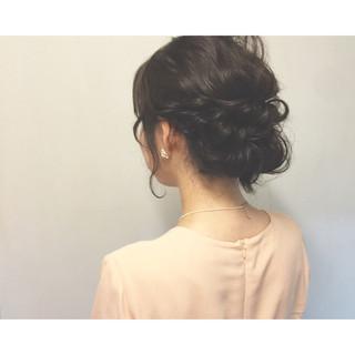 お祭り ショート セミロング まとめ髪 ヘアスタイルや髪型の写真・画像 ヘアスタイルや髪型の写真・画像