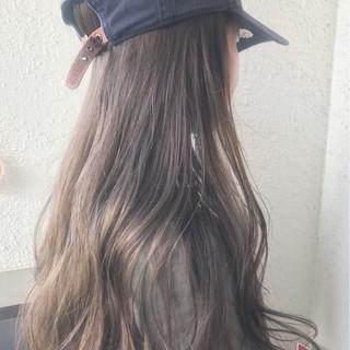 ナチュラル アンニュイ 透明感 スポーツ ヘアスタイルや髪型の写真・画像