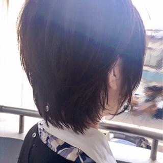 マッシュ 上品 ウルフカット 色気 ヘアスタイルや髪型の写真・画像
