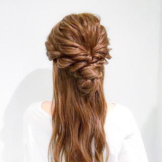 デート オフィス ロング 結婚式 ヘアスタイルや髪型の写真・画像