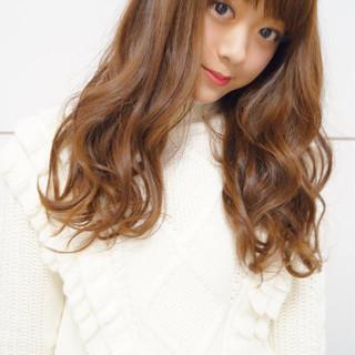 フェミニン 前髪あり 簡単 パーマ ヘアスタイルや髪型の写真・画像 ヘアスタイルや髪型の写真・画像